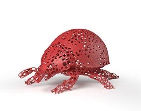 3D model Ladybird Voronoi