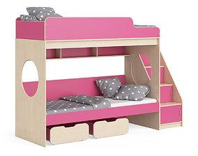 3D model Legenda K07 with LY10 childrens modular bed