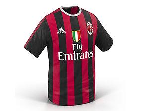 T-Shirt Milan 3D model