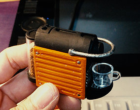 deco NESPRESSO PIXIE Miniature 3D print model