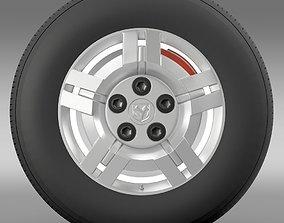 Ram Promaster wheel 3D model