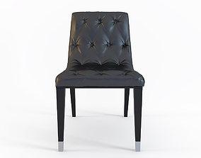 Club Italian Dining Chair by Costantini Pietro 3D model