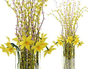 3D The Spring Bouquet