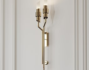 3D model Tycho Torch Wall Sconce by LUXXU