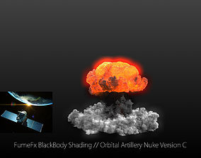 animated FumeFx Nuclear Explosion Asset