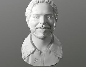 Post Malone 3D printable model