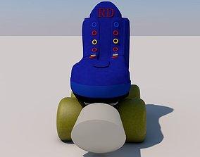 rollerblades 3D Roller skates