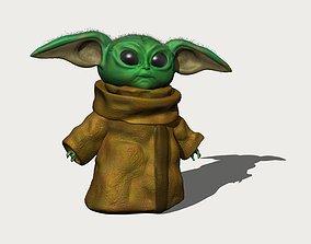 Baby Yoda yoda 3D model