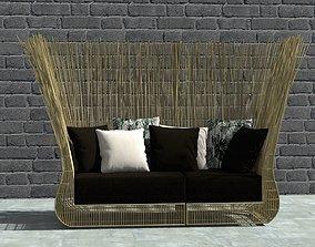 Yoda Sofa by Kenneth Cobonpue 3D model