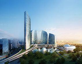 Modern Cityscape 820 3D Models