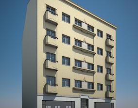 Apartment Building 19 3D