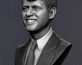 Robert Fitzgerald Kennedy 3D print model