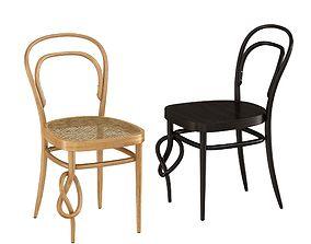 3D Thonet 214 k knot chair