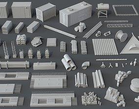 Construction Pack- 66 pieces 3D model