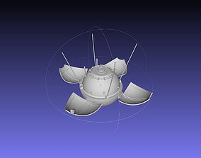 lunar Luna 9 Moon Probe Printable Model