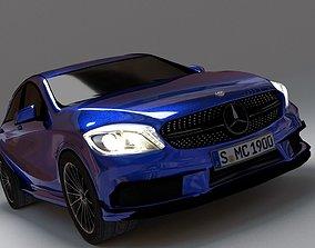 Compact Car 3D asset game-ready