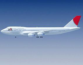 3D JAL Japan Airlines