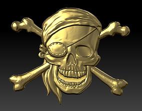 3D print model Pirate skull