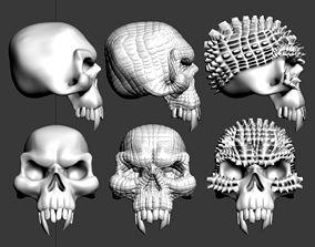 dead skull 3D print model