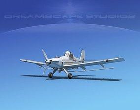 EMB-202A Ipanema Bare Metal 3D