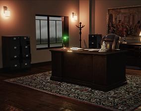 Vintage Office Pack 3D asset