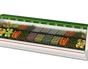 Grocery Store Produce Isle 3D