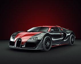 vehicle Bugatti Veyron 3D