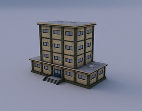 3D model Headquarter 01