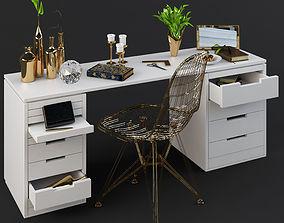 Decorative Set 3D Model Interior