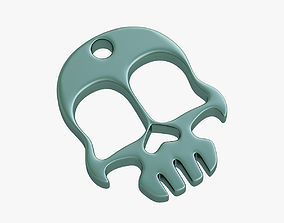 3D print model Knuckles skull