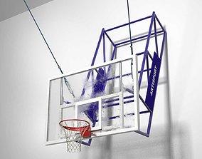 Basketball Hoop 3D model hoop