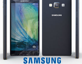 3D Samsung Galaxy A5 Black