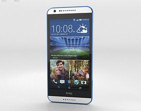 HTC Desire 620G Santorini White 3D
