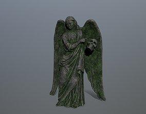 3D model Angel Statue 03