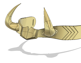 head Marvel - Lady Loki Crown 3D printable model