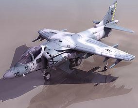 rigged HARR Aircraft 3d model
