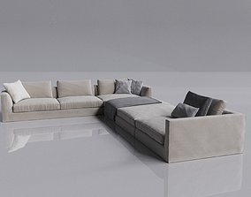 sofa for leving room 3D model