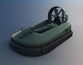 Amphibian Vehicle 3D