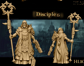 Heresylab Redeemers cultist 7 both Scifi 3D print model 2