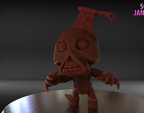 3D printable model Stylized Cute Zombie