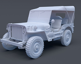 3D model Willy Jeep High Poly