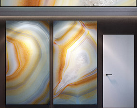 3D Wall Panel Set 55