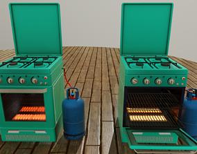 3D model Oven-Cooker