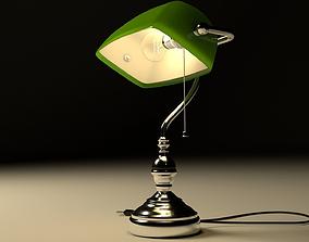 3D model Banker lamp