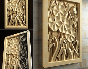 various wall panel art 3D models for artcam and aspire