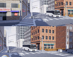 3D Urban Building and Road Pack