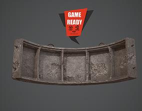 3D asset realtime CONCRETE DEBRIS GAME READY