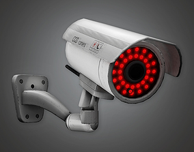 Security Camera BHE - PBR Game Ready 3D model