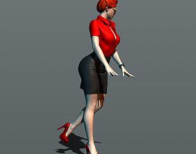 Secretary 3D print model