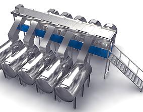 3D model Oxidation Fermentation Unit